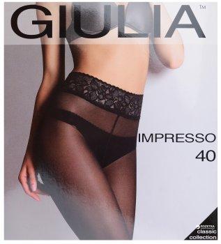 Колготки Giulia Impresso 40 Den Nero