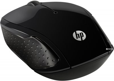 Миша HP 200 Wireless Black (X6W31AA)