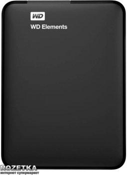 Жорсткий диск Western Digital Elements 500GB WDBUZG5000ABK-WESN 2.5 USB 3.0 External Black