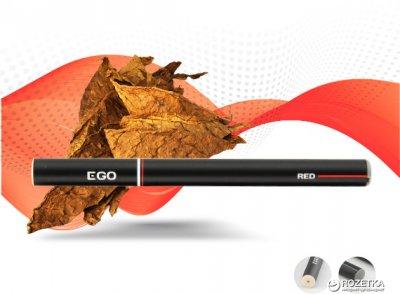Одноразова електронна сигарета EGO Vaporizer 18 мг Red (Тютюн) (6970380414169)
