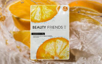 Маска для лица Beauty Friends II с витаминами тканевая 23 г (8809175171230)