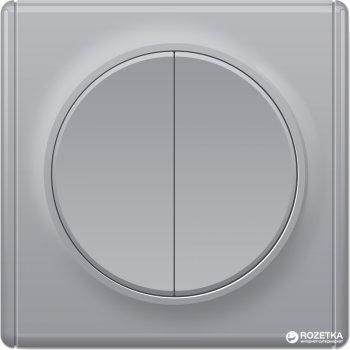 2-клавишный выключатель OneKeyElectro Florence Серый (1Е31501302)