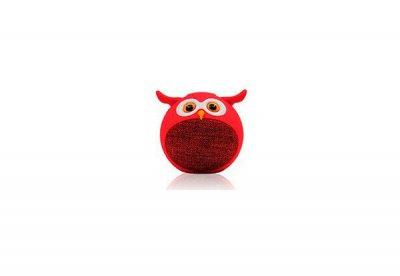 Дитяча портативна бездротова Bluetooth колонка MB-M916 Сова (Червоний)