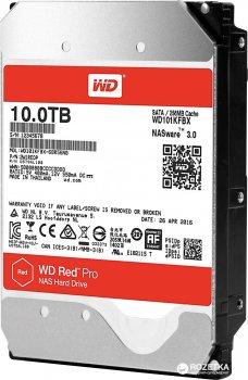 Жорсткий диск Western Digital Red Pro NAS 10TB 7200rpm 256MB WD101KFBX 3.5 SATA III