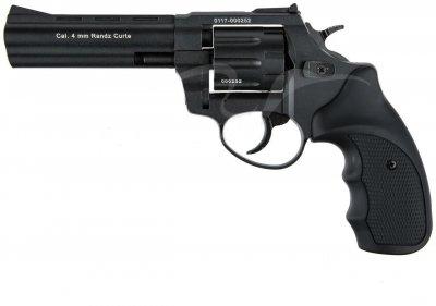 """Револьвер флобера STALKER S 4.5 """". Матеріал рукояті - пластик Black"""