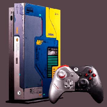 Консоль Стационарная Microsoft Xbox One X Cyberpunk 2077 Limited Edition 1TB Black + Игра Cyberpunk 2077 Digital Direct