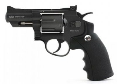 Пневматичний пістолет Gletcher SW B25 Smith & Wesson Сміт і Вессон газобалонний CO2 120 м/с
