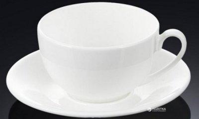 Чашка с блюдцем для чая Wilmax 250 мл (WL-993000)