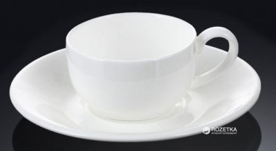 Чашка с блюдцем для кофе Wilmax 100 мл (WL-993002)