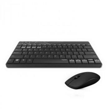 Комплект (клавіатура, миша) Rapoo 8000M Wireless Black