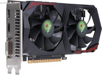 AFOX PCI-Ex GeForce GTX 1050 Ti 4GB GDDR5 (128bit) (1290/7008) (DVI, HDMI, DisplayPort) (AF1050Ti-4096D5H2)