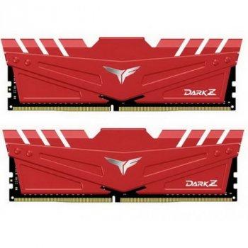 DDR4 2Х8GB/3000 Team T-Force Dark Z Red (TDZRD416G3000HC16CDC01)