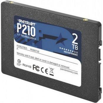 "SSD 2TB Patriot P210 2.5"" SATAIII TLC (P210S2TB25)"