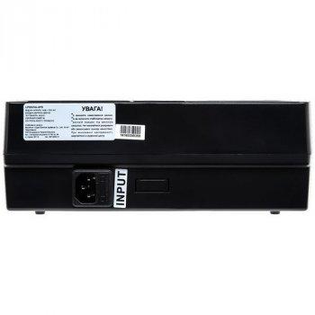 ИБП LogicPower 850VA-6PS, Lin.int., AVR, 6 x євро, пластик