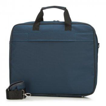 Велика нейлонова сумка для ноутбука 91-3P-605-7 темно-синій