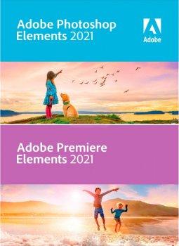 Adobe Photoshop Elements и Premiere Elements версия 2021 (бессрочная лицензия на обновление для коммерческих организаций), International English Upgrade License TLP 1 лицензия 1 ПК (65313105AD01A00)