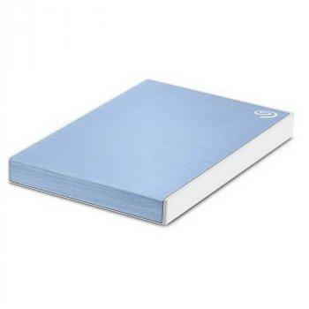 "HDD ext 2.5"" USB 2.0 TB Seagate Backup Plus Slim Light Blue (STHN2000402)"