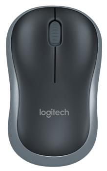 Миша Logitech Wireless Mouse M185 Swift Grey (910-002238)