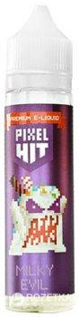 Рідина для електронних сигарет Molecule Labs Pixel HIT: Milky Evil 60 мл (Молочно-полуничний коктейль зі збитими вершками)