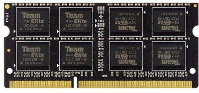 Оперативна пам'ять Team Elite SODIMM DDR3L-1600 4096MB PC3L-12800 (TED3L4G1600C11-S01)