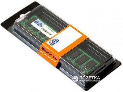 Оперативна пам'ять Goodram DDR3-1600 4096MB PC3-12800 (GR1600D3V64L11S/4G)