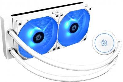Система рідинного охолодження ID-Cooling Auraflow X 240 Snow