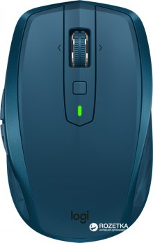 Миша Logitech MX Anywhere 2S Wireless/Bluetooth Midnight Teal (910-005154)