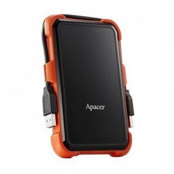 """HDD ext 2.5"""" USB 1.0 TB Apacer AC630 Black/Orange (AP1TBAC630T-1)"""