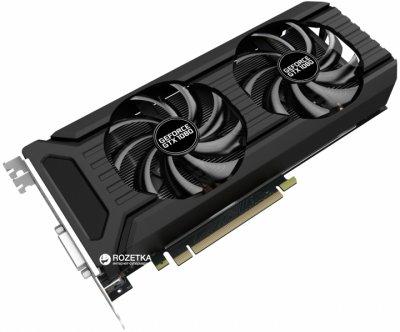 Palit PCI-Ex GeForce GTX 1080 Dual OC 8GB GDDR5X (256bit) (1620/10000) (DVI, HDMI, 3 x DisplayPort) (NEB1080U15P2-1045D)