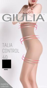 Колготки Giulia Talia Control 40 den Nero