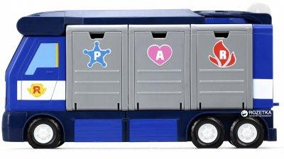 Мобильная штаб квартира Robocar Poli с контейнером и 1 машинкой (83377)