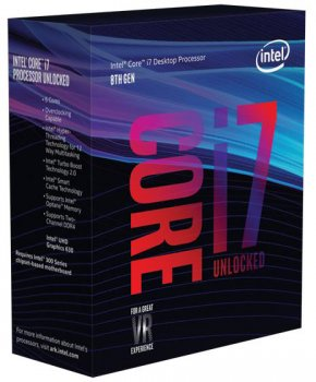 Процесор Intel Core i7-8700K 3.7GHz/8GT/s/12MB (BX80684I78700K) s1151 BOX