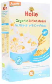 Мюсли Holle органические мультизлаковые с кукурузными хлопьями с 10 месяцев 250 г (7640161872257)