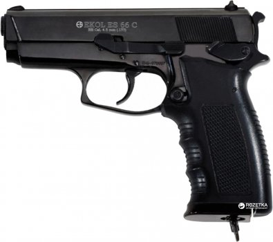 Пневматичний пістолет Ekol ES 66 С Black (Z27.19.003)