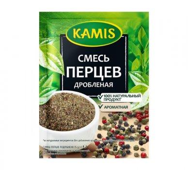 Упаковка приправа Каміѕ Суміш перців подрібнений 10 пачок по 15 гр