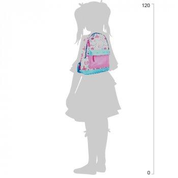 Рюкзак підлітковий Yes Weekend ST-15 Fashion 35x27x13 см 13 л для дівчинки Білий з рожевим (553521)