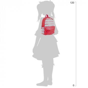 Рюкзак підлітковий Yes Weekend ST-15 Broken lines 35x27x13 см 13 л Червоний (553519)