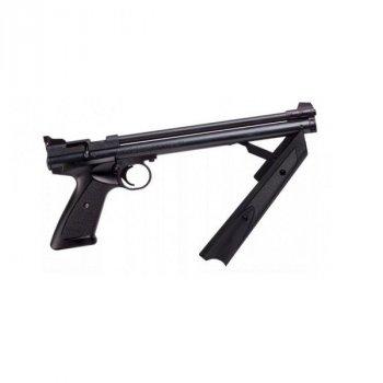 Пневматичний пістолет Crosman American Classic P1377 (чорний)