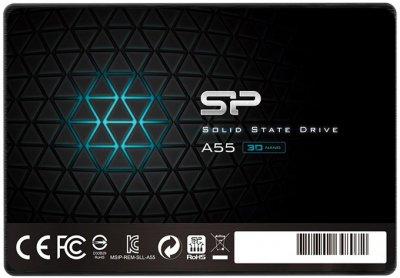 "Silicon Power A55 256GB 2.5"" SATAIII TLC (SP256GBSS3A55S25)"