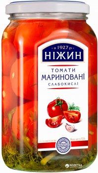 Маринованные томаты Нежин (Ніжин) в стеклянной банке 920 мл (4823006800964)