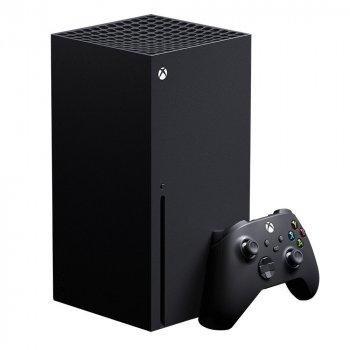 Стационарная игровая приставка Microsoft Xbox Series X 1TB (Black) + FIFA 21 Champions Edition [52555]