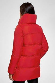 Куртка зимняя Oodji 170 Красный 10200079/32754/4500N