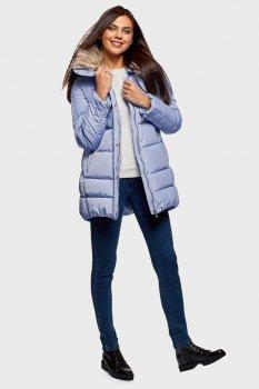 Женская голубая куртка Oodji 170 10210002-1/46266/7500N