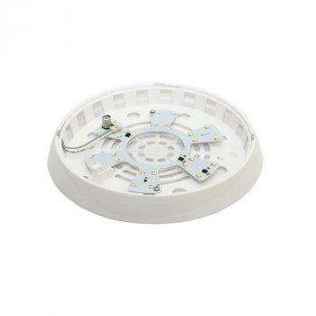 Світильник стельовий ERKA 1127 LED-G 12W 4200 ДО прозорий/золото