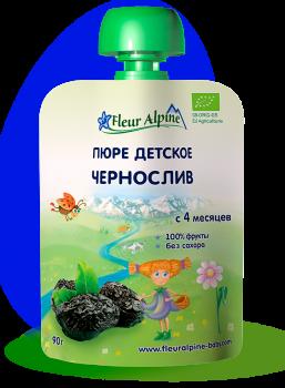 Пюре Fleur Alpine органічне дитяче Чорнослив 90 г