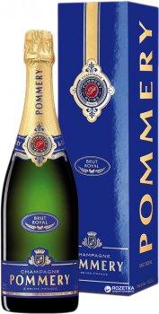 Шампанське Pommery Brut Royal біле брют 0,75 л 12,5% (3352370002830)
