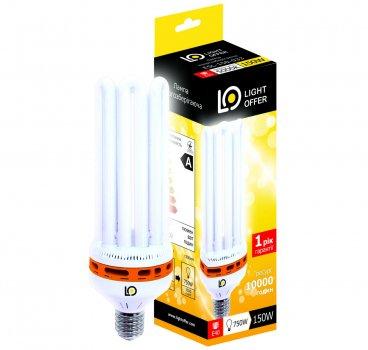 Енергозберігаюча лампа Light Offer Т5 6U ЕSL 150W E40 5000К 8600Lm (ЕSL - 150 - 033)
