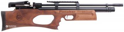 Пневматична гвинтівка Kral Puncher Breaker PCP Wood з глушником (36810103)