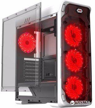 Корпус Gamemax StarLight W-Red