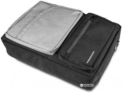 """Сумка-рюкзак трансформер для ноутбука Modecom Reno 15.6"""" Grey (TOR-MC-RENO-GRE)"""